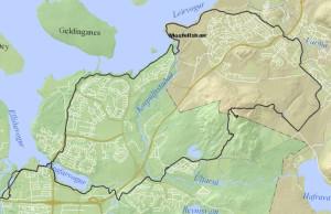 Úlfarsfell-Mosó-Ströndin